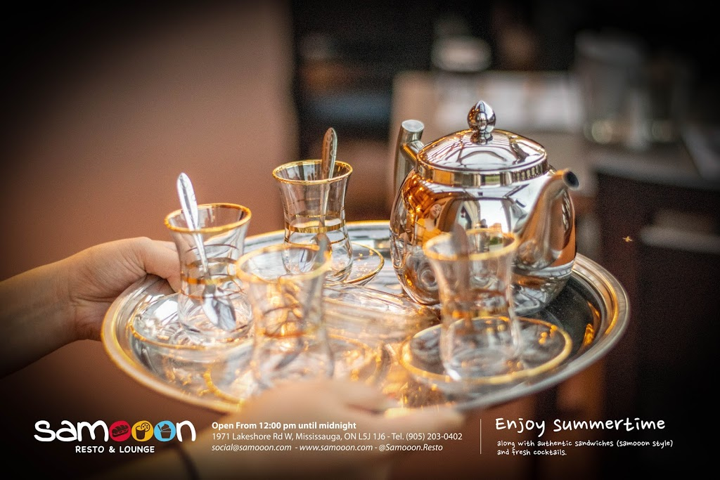 Samooon Resto & Lounge | cafe | 845 Lakeshore Rd E, Mississauga, ON L5E 1C9, Canada | 4168770564 OR +1 416-877-0564