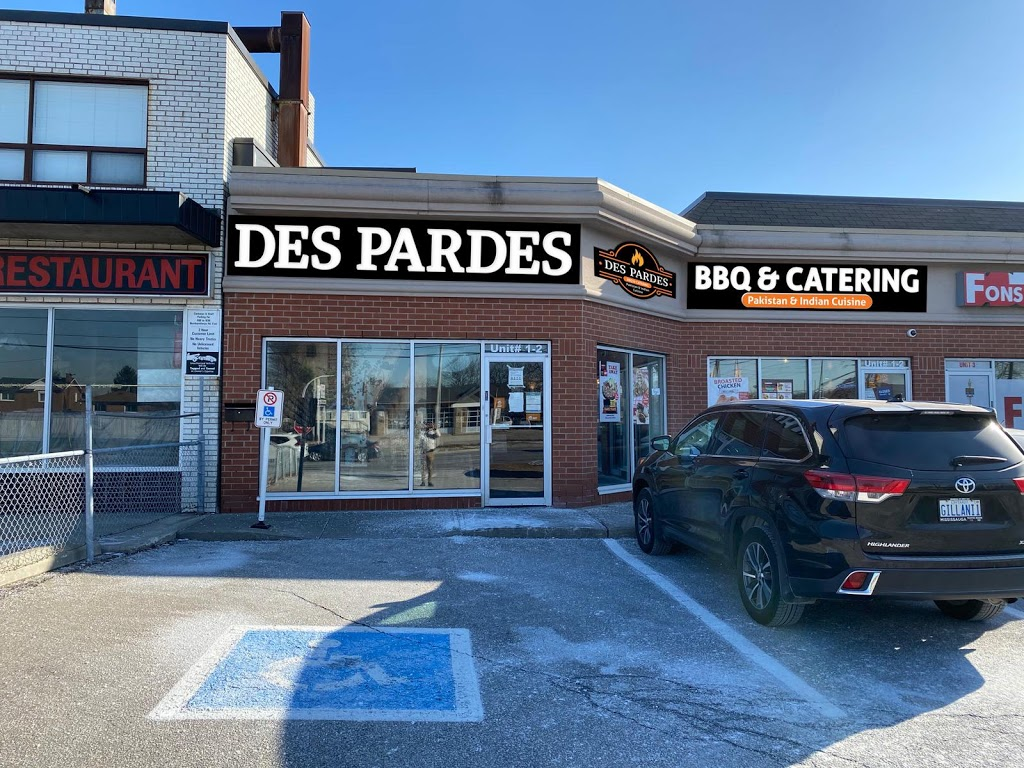 Des pardes bbq & catering | restaurant | 980 Burnhamthorpe Rd E, Mississauga, ON L4Y 2X6, Canada | 9058040955 OR +1 905-804-0955