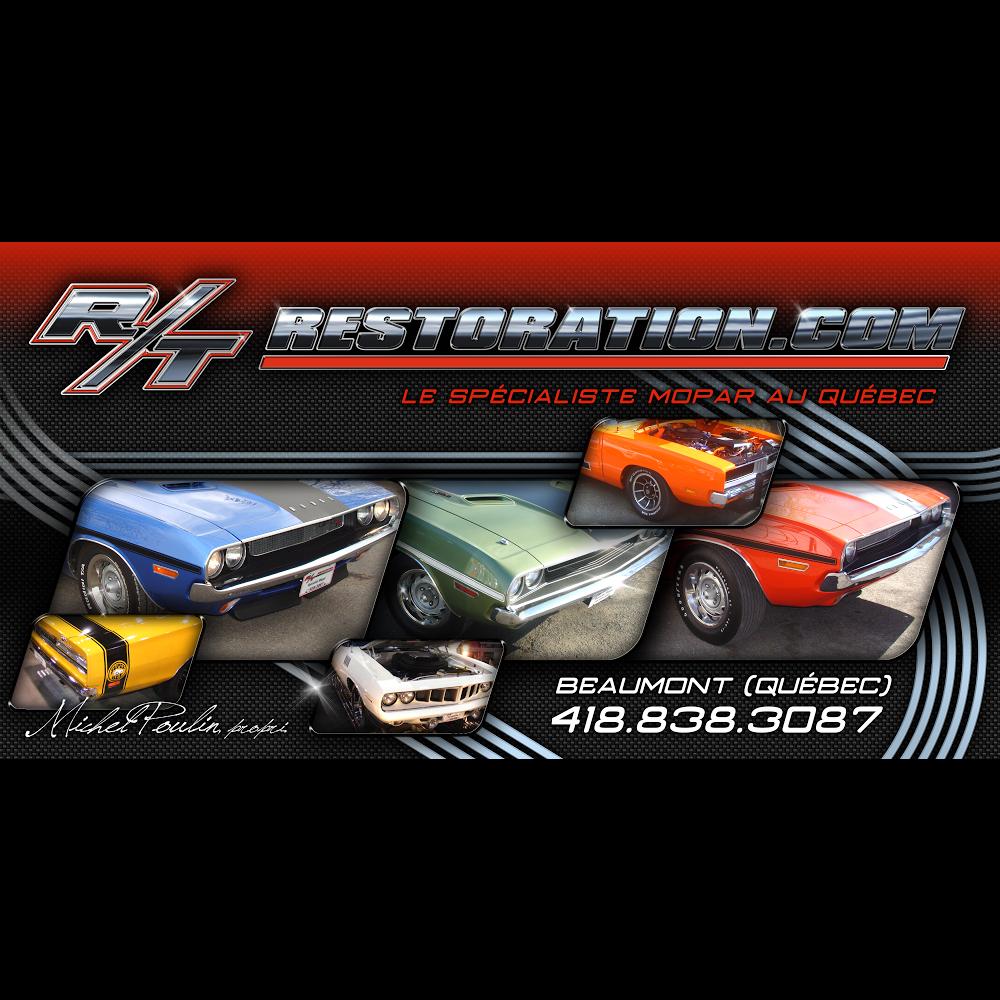 R T Restoration Inc | car repair | 317 Route du Fleuve, Beaumont, QC G0R 1C0, Canada | 4188383087 OR +1 418-838-3087