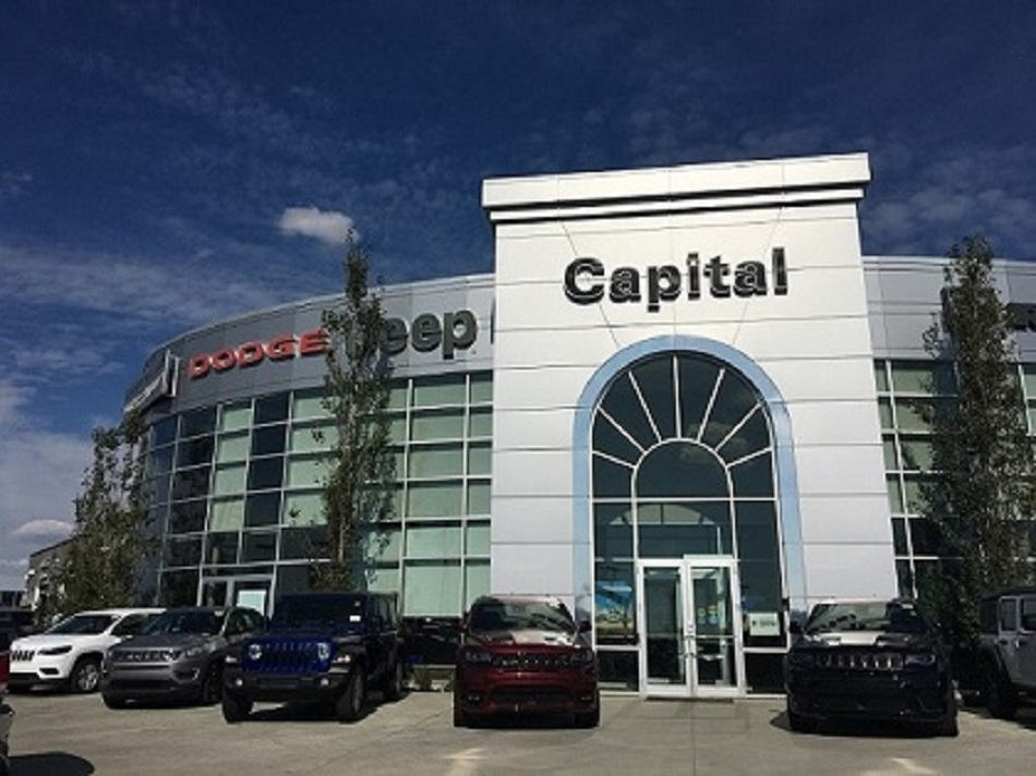 Capital Dodge Edmonton >> Capital Chrysler Jeep Dodge Ram Fiat Car Dealer 1311 101