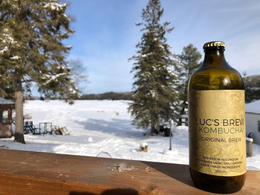 Lucs Brew Organic Kombucha   restaurant   2049 Little Hawk Lake Rd, Algonquin Highlands, ON K0M 1J2, Canada   7058542158 OR +1 705-854-2158