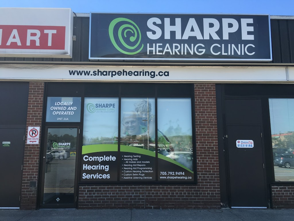 Sharpe Hearing Clinic | health | 320 Bayfield St #36a, Barrie, ON L4M 3C1, Canada | 7057929494 OR +1 705-792-9494
