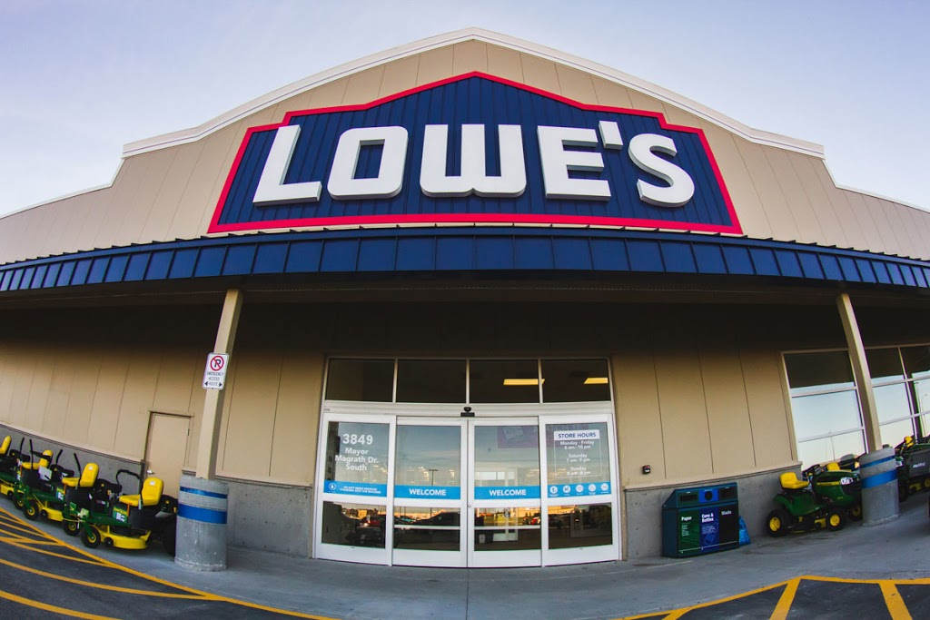 Lowes Home Improvement | furniture store | 1199 Marcus Dr, Sudbury, ON P3B 4K6, Canada | 7055217200 OR +1 705-521-7200