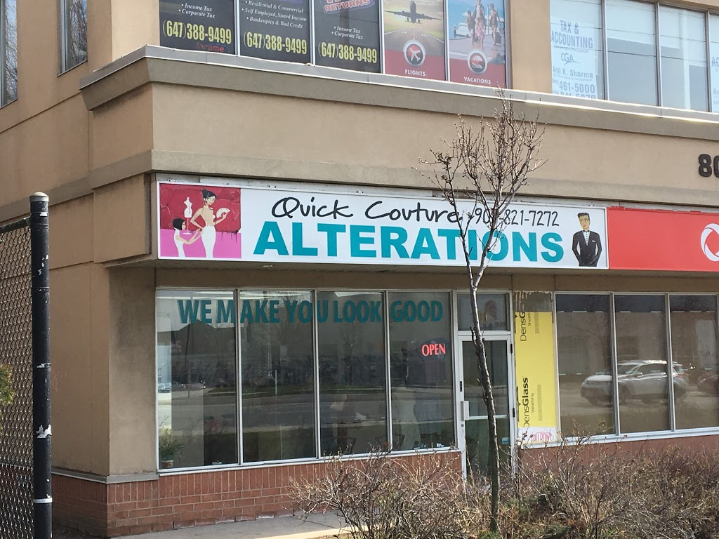 Quick Couture Professional Alterations | point of interest | 808 Britannia Rd W, Mississauga, ON L5V 0A7, Canada | 9058217272 OR +1 905-821-7272