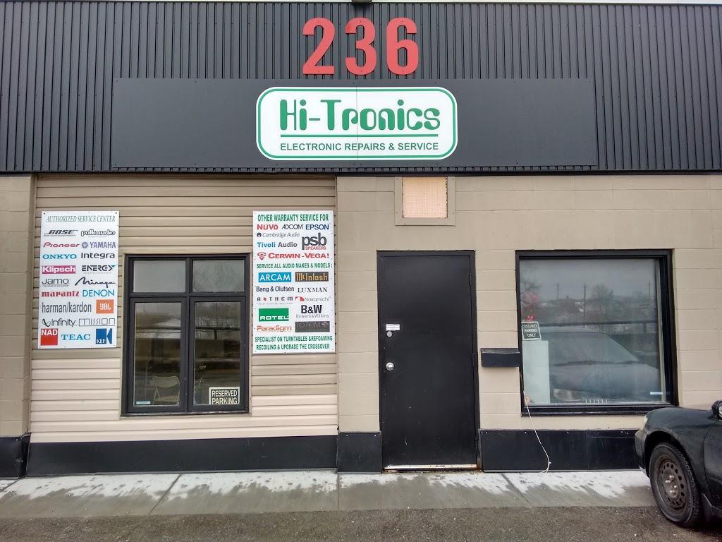 Hi-Tronics | electronics store | 250 City Centre Ave #236, Ottawa, ON K1R 6R7, Canada | 6137251157 OR +1 613-725-1157