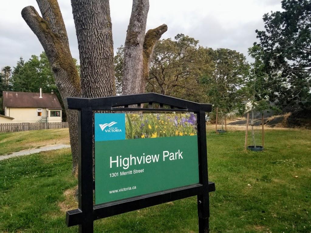 Highview Park | park | 1301 Merritt St, Victoria, BC V8X 2P7, Canada