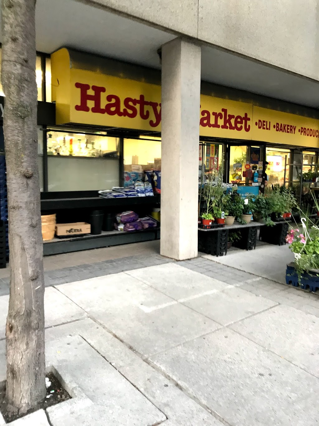Hasty Market | convenience store | 133 Redpath Ave, Toronto, ON M4P 2K5, Canada | 4164814553 OR +1 416-481-4553