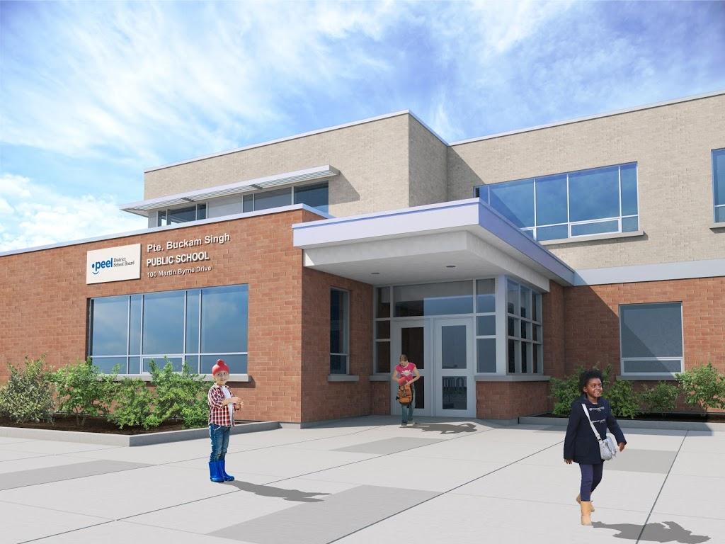 Pte Buckam Singh Public School | school | 100 Martin Byrne Dr, Brampton, ON L6P 0H7, Canada | 9054533701 OR +1 905-453-3701