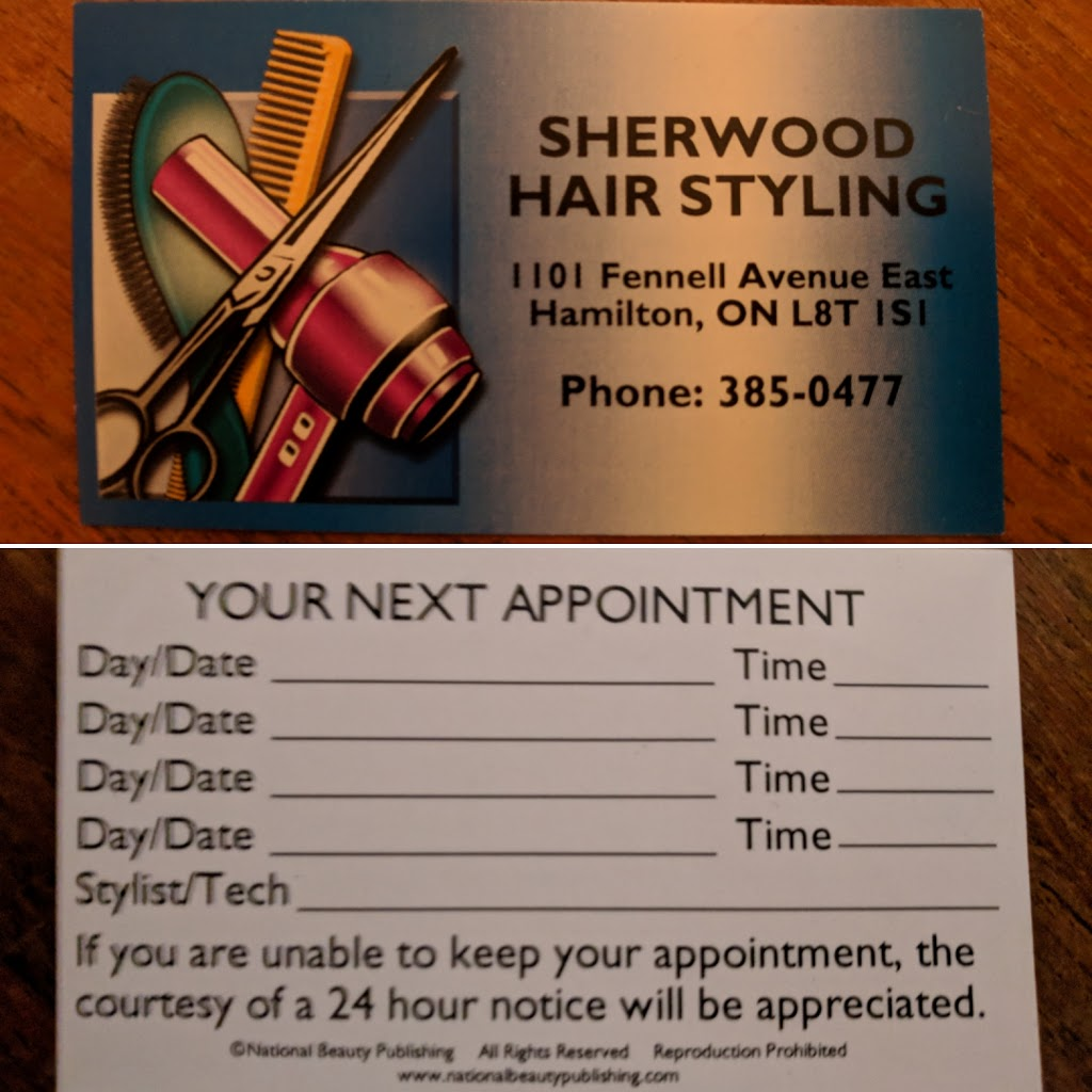 Sherwood Mens Hairstyling | hair care | 1101 Fennell Ave E, Hamilton, ON L8T 1S1, Canada | 9053850477 OR +1 905-385-0477