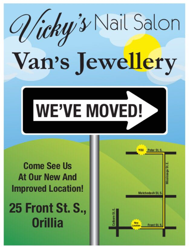 Vickys Nail Salon | spa | 25 Front St S #1, Orillia, ON L3V 4S1, Canada | 7052595990 OR +1 705-259-5990