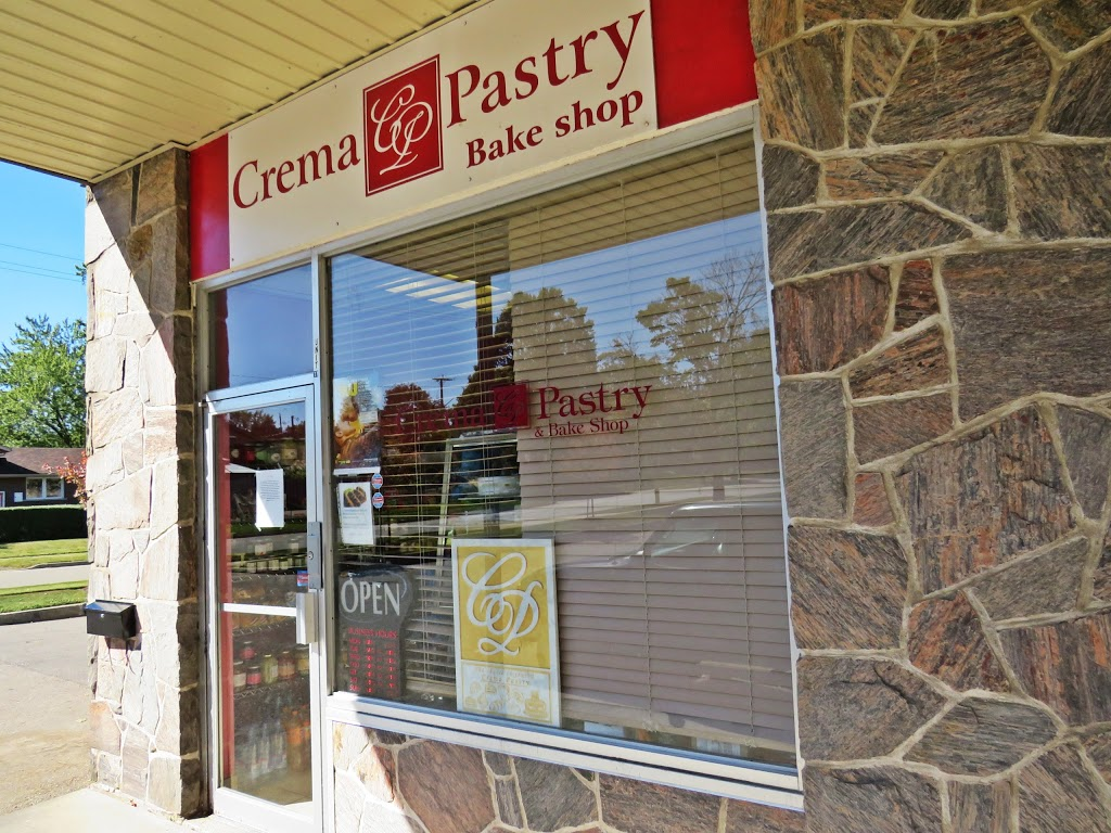 Crema Pastry   bakery   421 Greenbrook Dr #17, Kitchener, ON N2M 4K1, Canada   5195782760 OR +1 519-578-2760