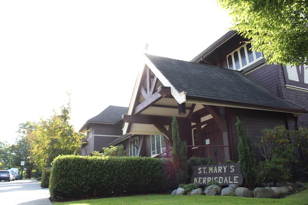 St. Marys Kerrisdale | church | 2490 W 37th Ave, Vancouver, BC V6M 1P5, Canada | 6042614228 OR +1 604-261-4228