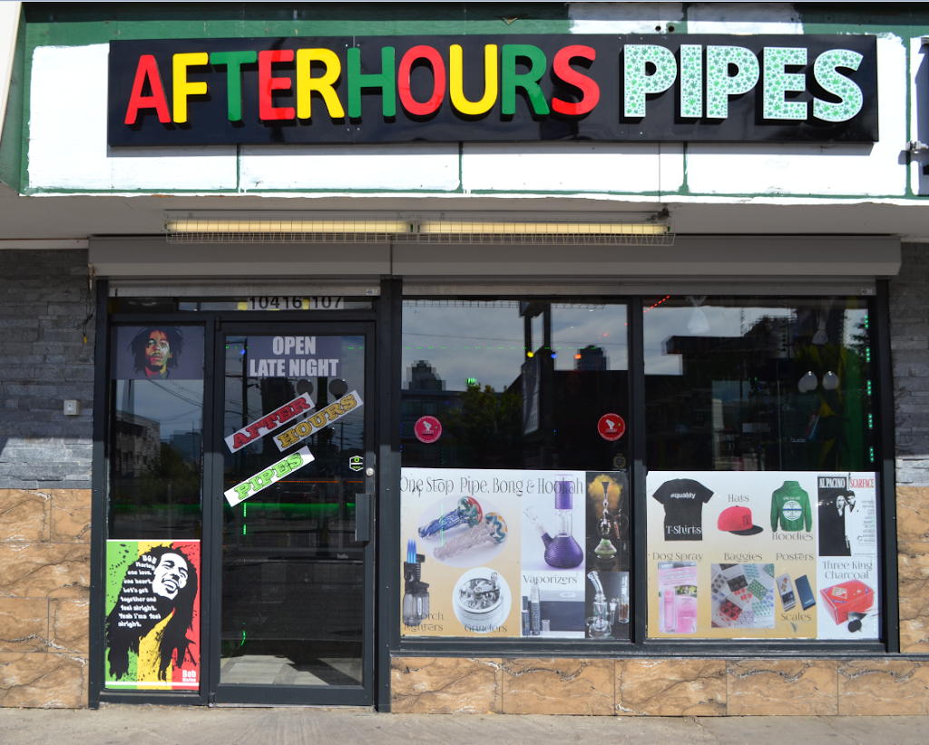 After Hours Pipes | store | 10416 107 Ave, Edmonton, AB T5H 0W1, Canada | 7804267009 OR +1 780-426-7009