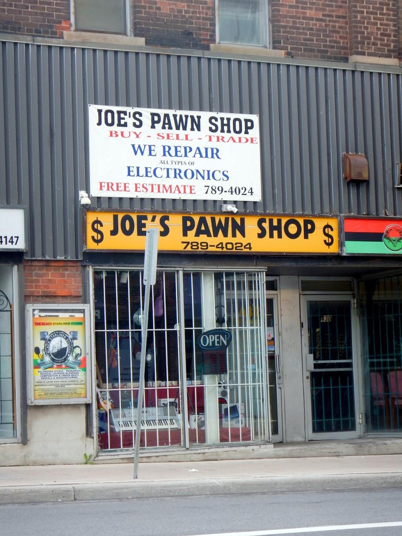 Joes Pawn Shop | store | 432 Rideau St, Ottawa, ON K1N 5Z1, Canada | 6132412224 OR +1 613-241-2224