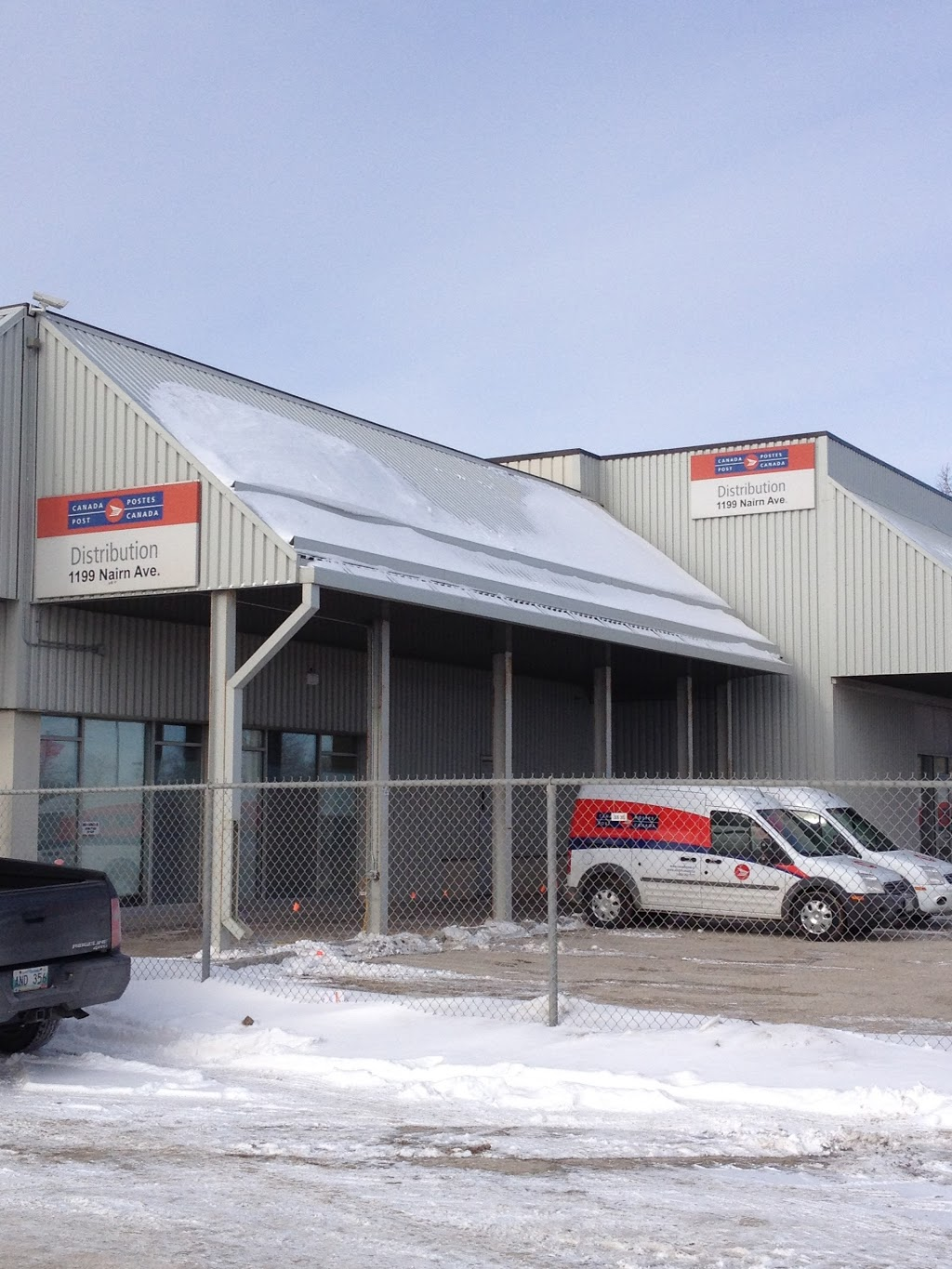 Canada Post Distribution Centre | post office | 1S5, 1199 Nairn Ave, Winnipeg, MB R2L 1S5, Canada | 8002671177 OR +1 800-267-1177