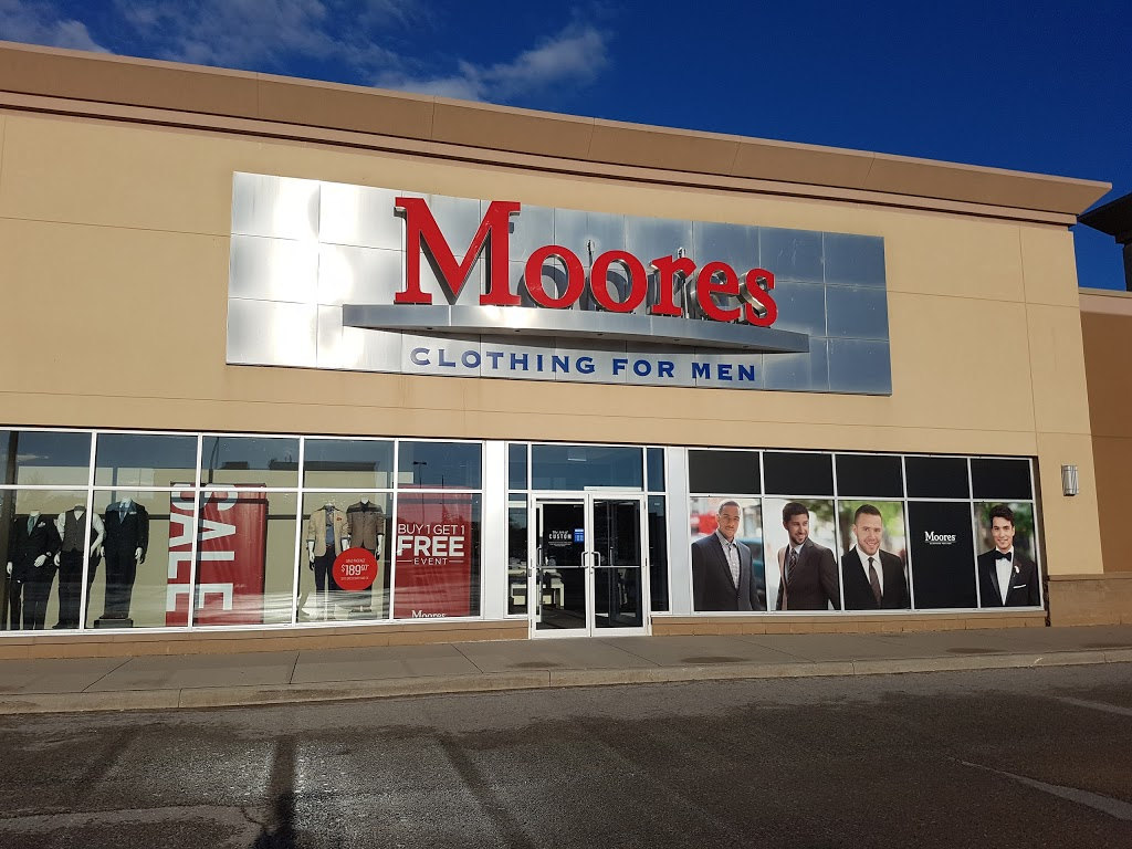 MOORES | clothing store | 580 Laval Dr Unit #200, Oshawa, ON L1J 0B5, Canada | 9054330455 OR +1 905-433-0455