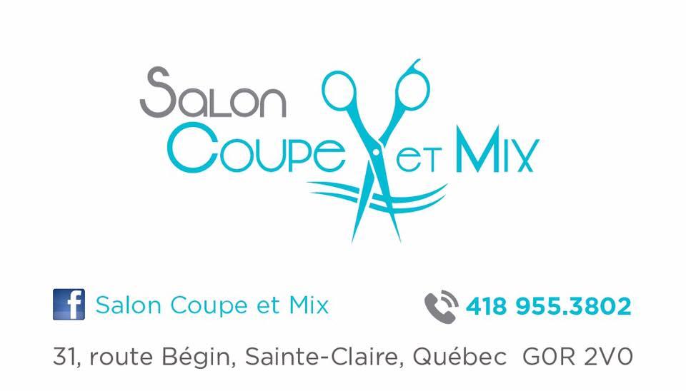 Salon Coupe et Mix Patricia Audet | hair care | 31 Boulevard Bégin, Sainte-Claire, QC G0R 2V0, Canada | 4189553802 OR +1 418-955-3802
