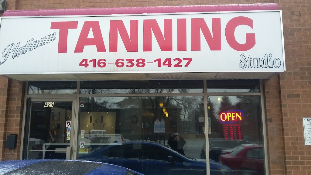 Platinum Tanning   point of interest   423 Wilson Ave, North York, ON M3H 1T5, Canada   4166381427 OR +1 416-638-1427