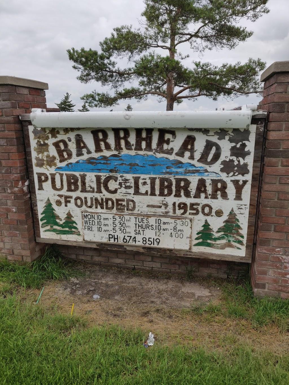 Barrhead Public Library | library | 5103 53 Ave, Barrhead, AB T7N 1N9, Canada | 7806748519 OR +1 780-674-8519