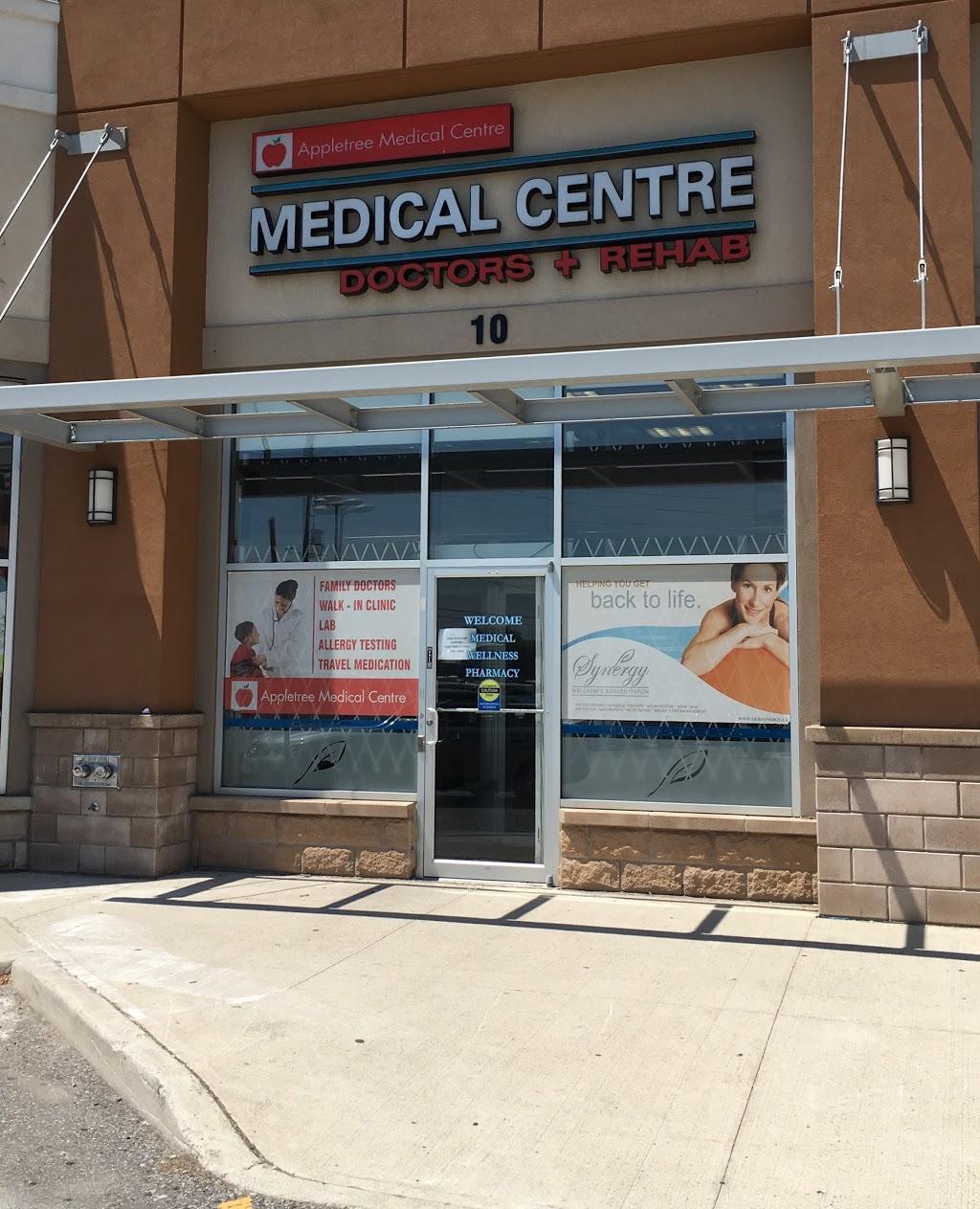 Appletree Medical Centre | doctor | 10-680 Rexdale Blvd, Etobicoke, ON M9W 0B5, Canada | 4162139577 OR +1 416-213-9577