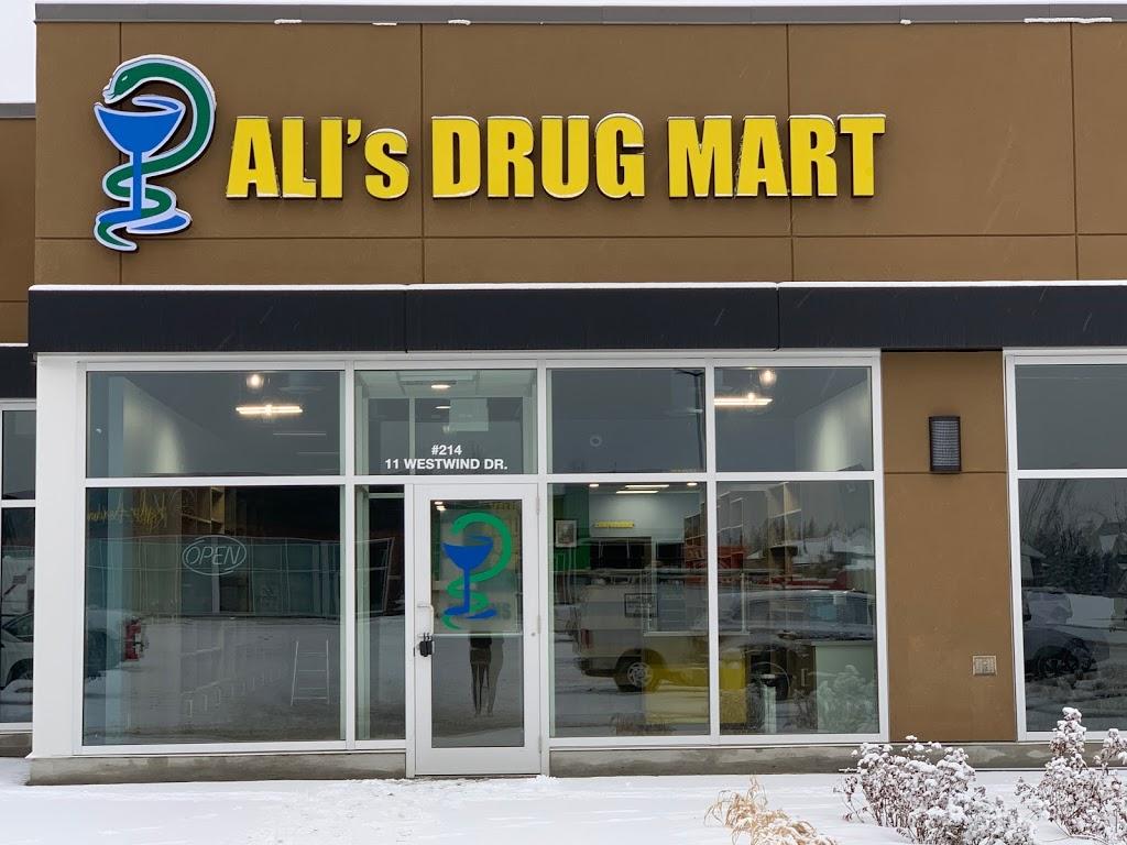 ALIs DRUG MART | health | 11 Westwind Dr #214, Spruce Grove, AB T7X 1R3, Canada | 5874617308 OR +1 587-461-7308