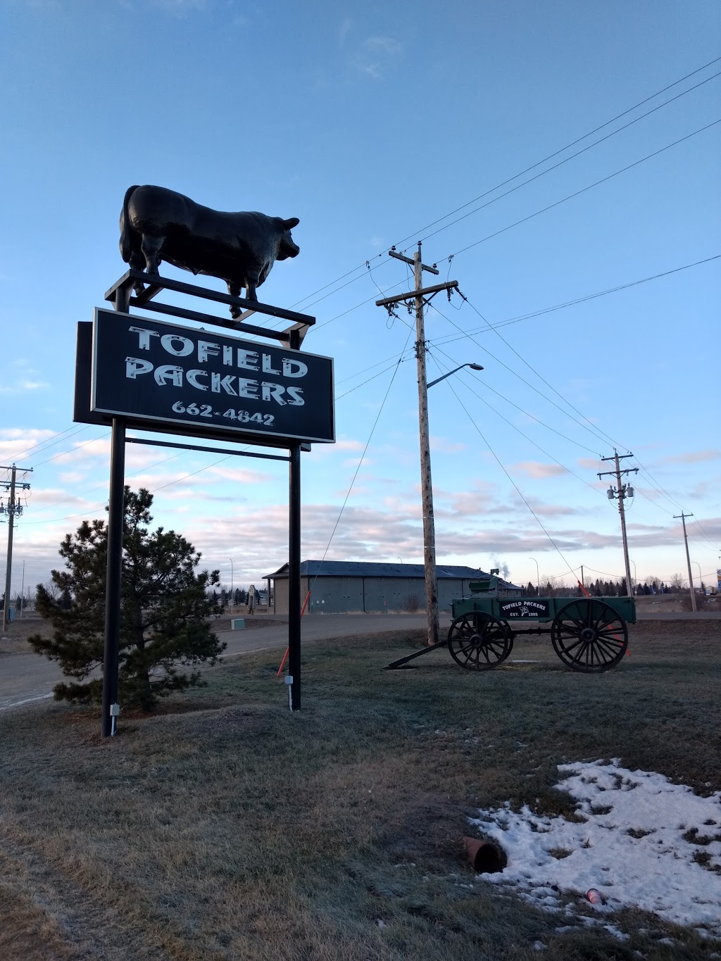 Tofield Packers LTD | point of interest | 5020 51 St, Tofield, AB T0B 4J0, Canada | 7806624842 OR +1 780-662-4842