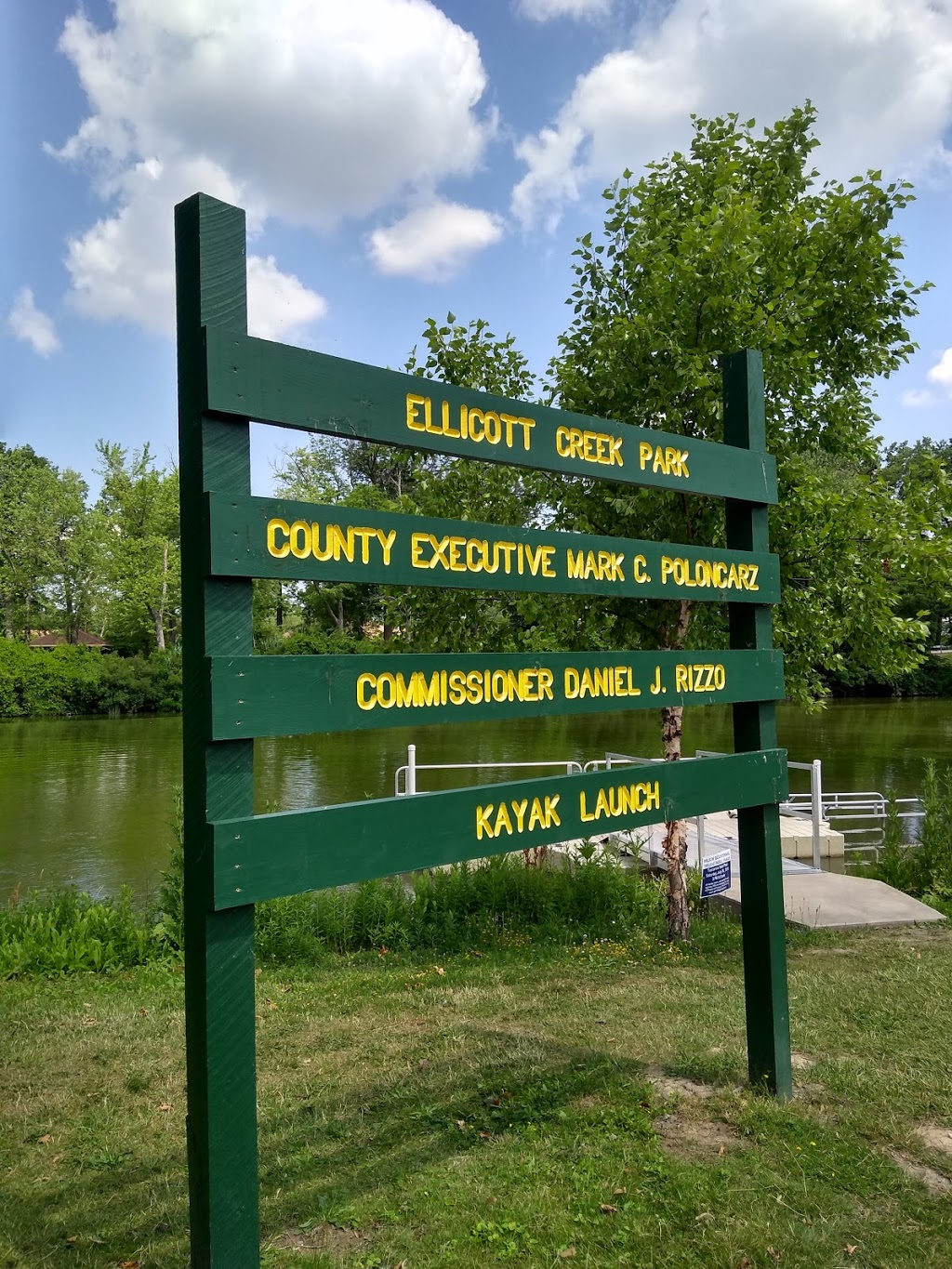 Ellicott Creek Park Kayak Launch | park | Tonawanda, NY 14150, USA