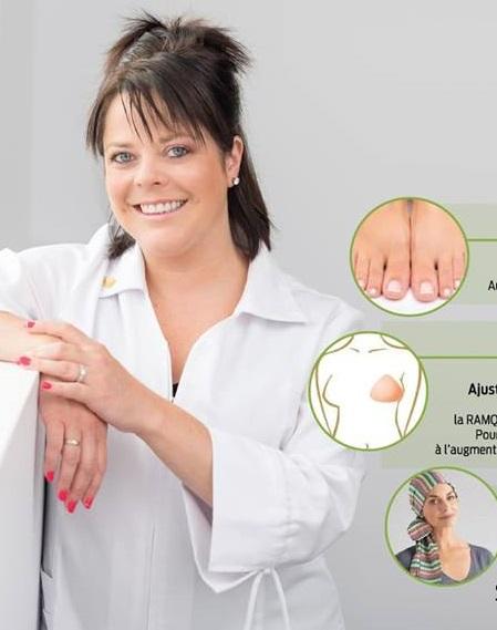 Soins de pieds et Prothèses mammaires - Stéphanie Grondin - Cent | health | 766 Rue Boudreau, Thetford Mines, QC G6H 1E7, Canada | 4184234672 OR +1 418-423-4672