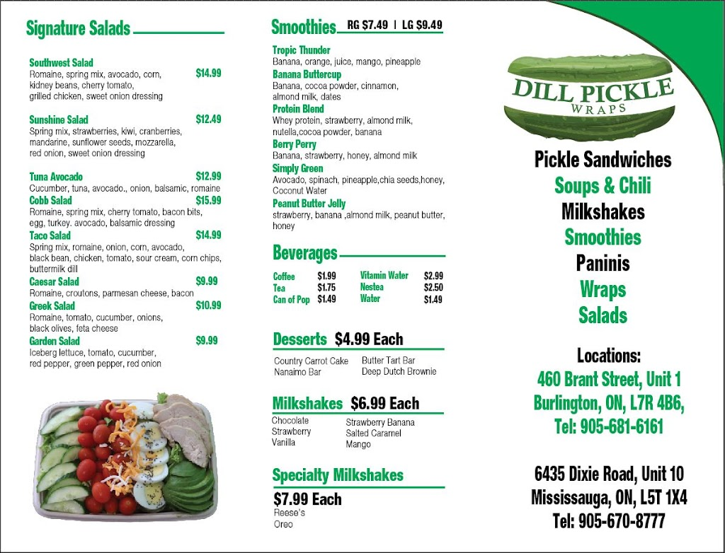 Dill Pickle Wraps Mississauga | restaurant | 6435 Dixie Rd Unit #10, Mississauga, ON L5T 1X4, Canada | 9056708777 OR +1 905-670-8777