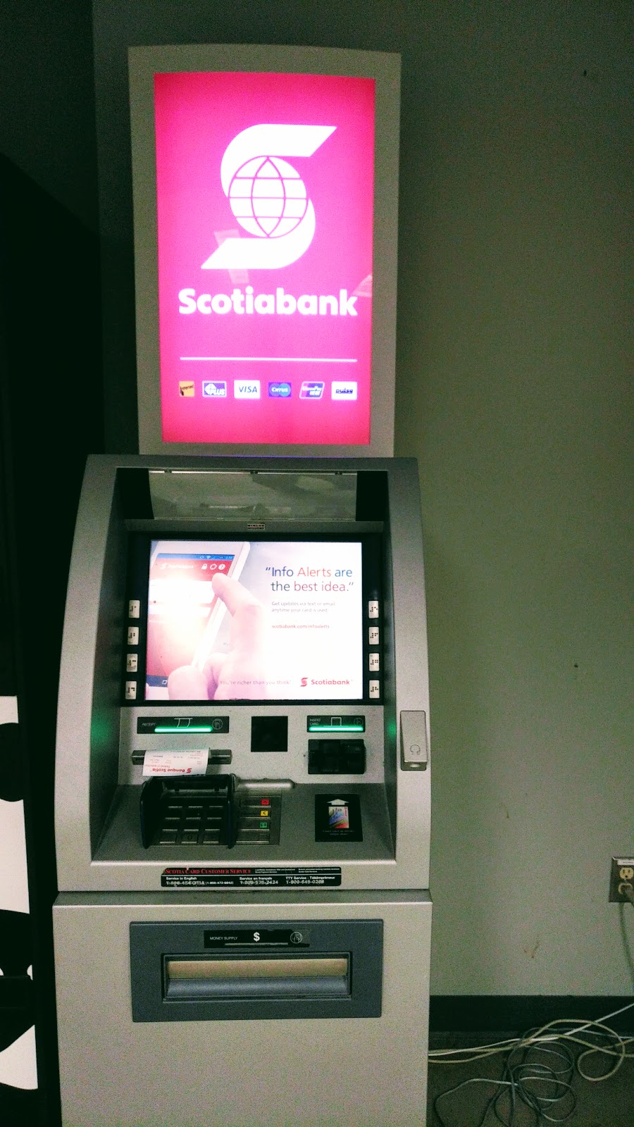 Scotiabank ATM | atm | Residence Commons, Ottawa, ON K1S 5B6, Canada