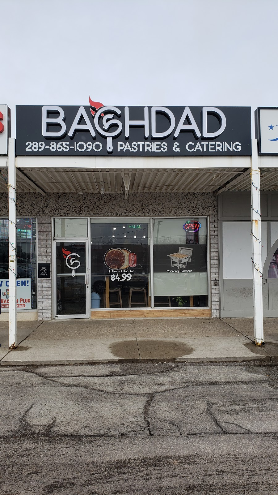 Baghdad Pastries & Catering | restaurant | 29 Queen St N, Mississauga, ON L5N 1A2, Canada | 2898651090 OR +1 289-865-1090