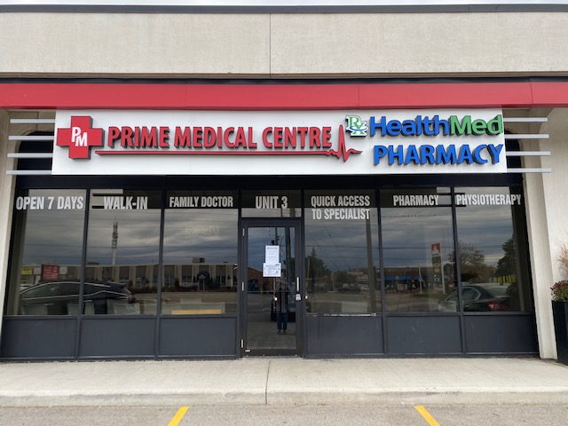 Prime Medical Centre | doctor | 755 Queensway E Unit 3, Mississauga, ON L4Y 4C5, Canada | 9058975454 OR +1 905-897-5454
