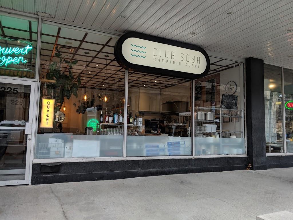 Club Soya | restaurant | 225 Rue Sherbrooke Ouest, Montréal, QC H2X 1X8, Canada | 5143791056 OR +1 514-379-1056