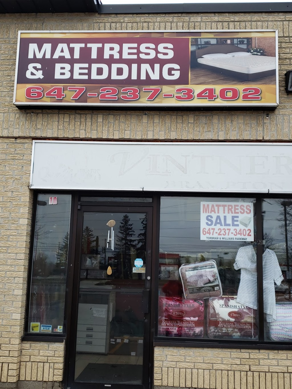 MATTRESS & BEDDING | home goods store | 1650 Williams Pkwy, Brampton, ON L6S 5R7, Canada | 6472373402 OR +1 647-237-3402