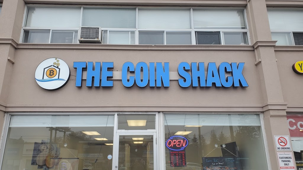 The Coin Shack (Bitcoin Exchange/Bitcoin ATM) | atm | 4132 Bathurst St, North York, ON M3H 3P2, Canada | 4165198236 OR +1 416-519-8236