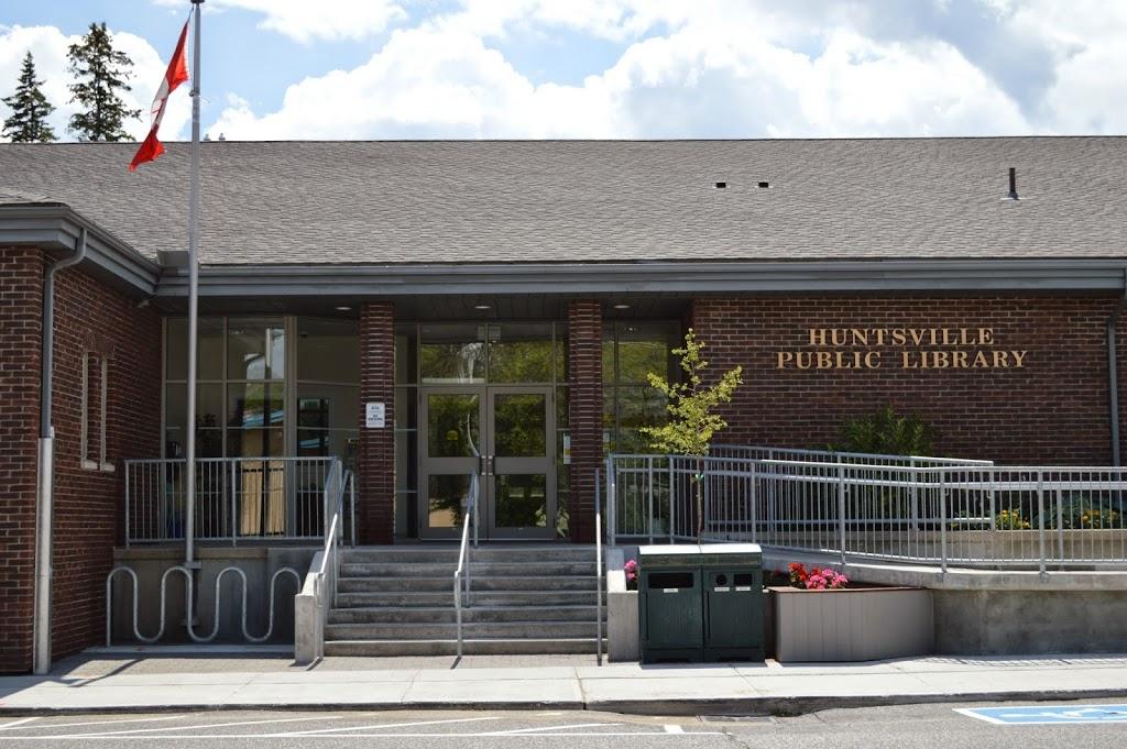 Huntsville Public Library   library   7 Minerva St E, Huntsville, ON P1H 1W4, Canada   7057895232 OR +1 705-789-5232