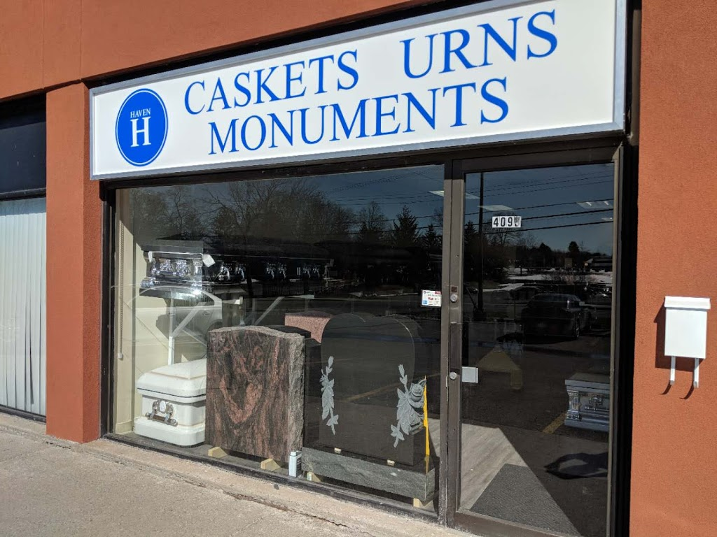 Haven Casket & Monument - Store | 409 St Laurent Blvd, Ottawa, ON