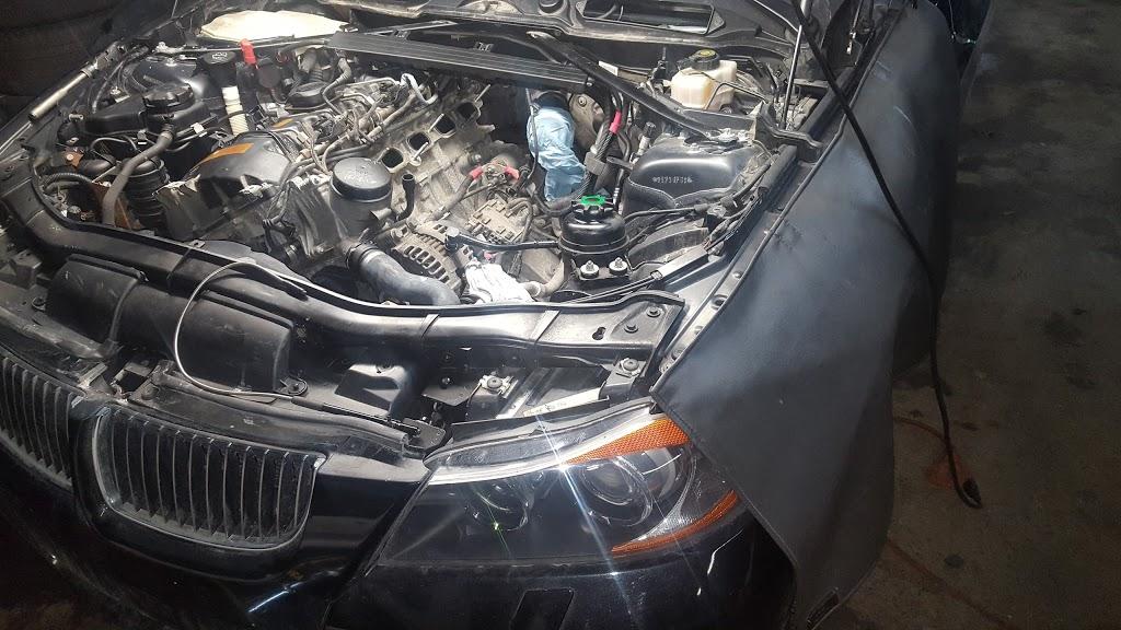 Garage mécanique BM Workshop -Montréal- | car dealer | 5465 Boul Métropolitain E, Saint-Léonard, QC H1P 1X2, Canada | 5143212223 OR +1 514-321-2223