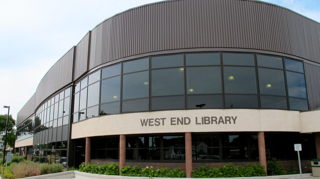 Harvey Smith (West End) Library | library | 999 Sargent Ave, Winnipeg, MB R3E 3K6, Canada | 2049864677 OR +1 204-986-4677