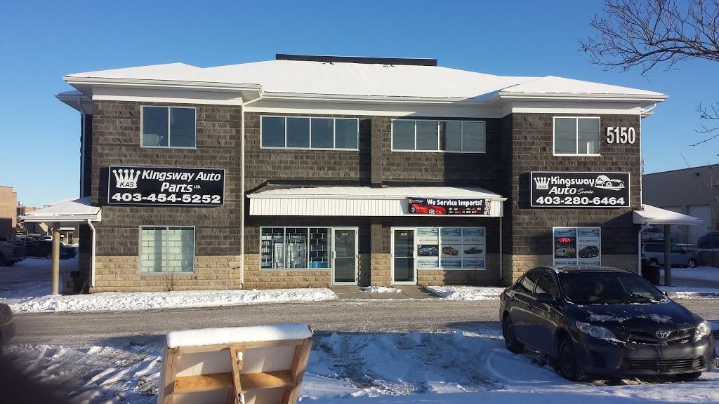 Kingsway Auto Parts Ltd.NE Calgary (Newly Open)   car repair   5150 47 St NE, Calgary, AB T3J 4N4, Canada   4034545252 OR +1 403-454-5252