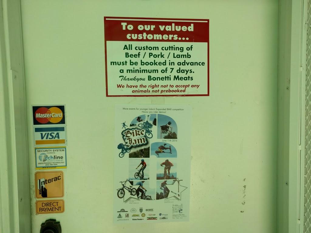 Bonetti Meats | store | 3986 248 St, Langley City, BC V4W 2B3, Canada | 6048562187 OR +1 604-856-2187