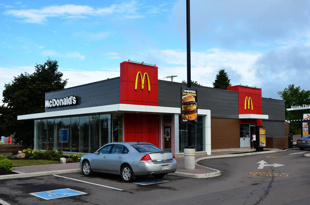 McDonalds | cafe | 45 Morton Ave, Moncton, NB E1A 3H8, Canada | 5068621619 OR +1 506-862-1619