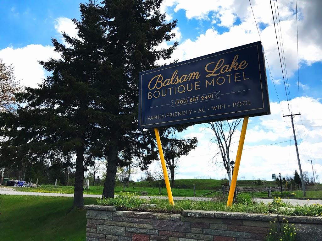 Balsam Lake Boutique Motel | lodging | 5568 ON-35, Fenelon Falls, ON K0M 1N0, Canada | 7058872491 OR +1 705-887-2491