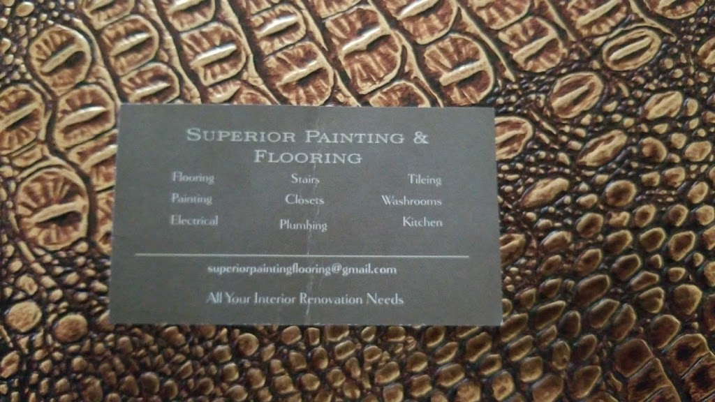Superior Painting and Flooring | home goods store | 158 Windale Crescent, Kitchener, ON N2E 0A4, Canada | 4167166694 OR +1 416-716-6694