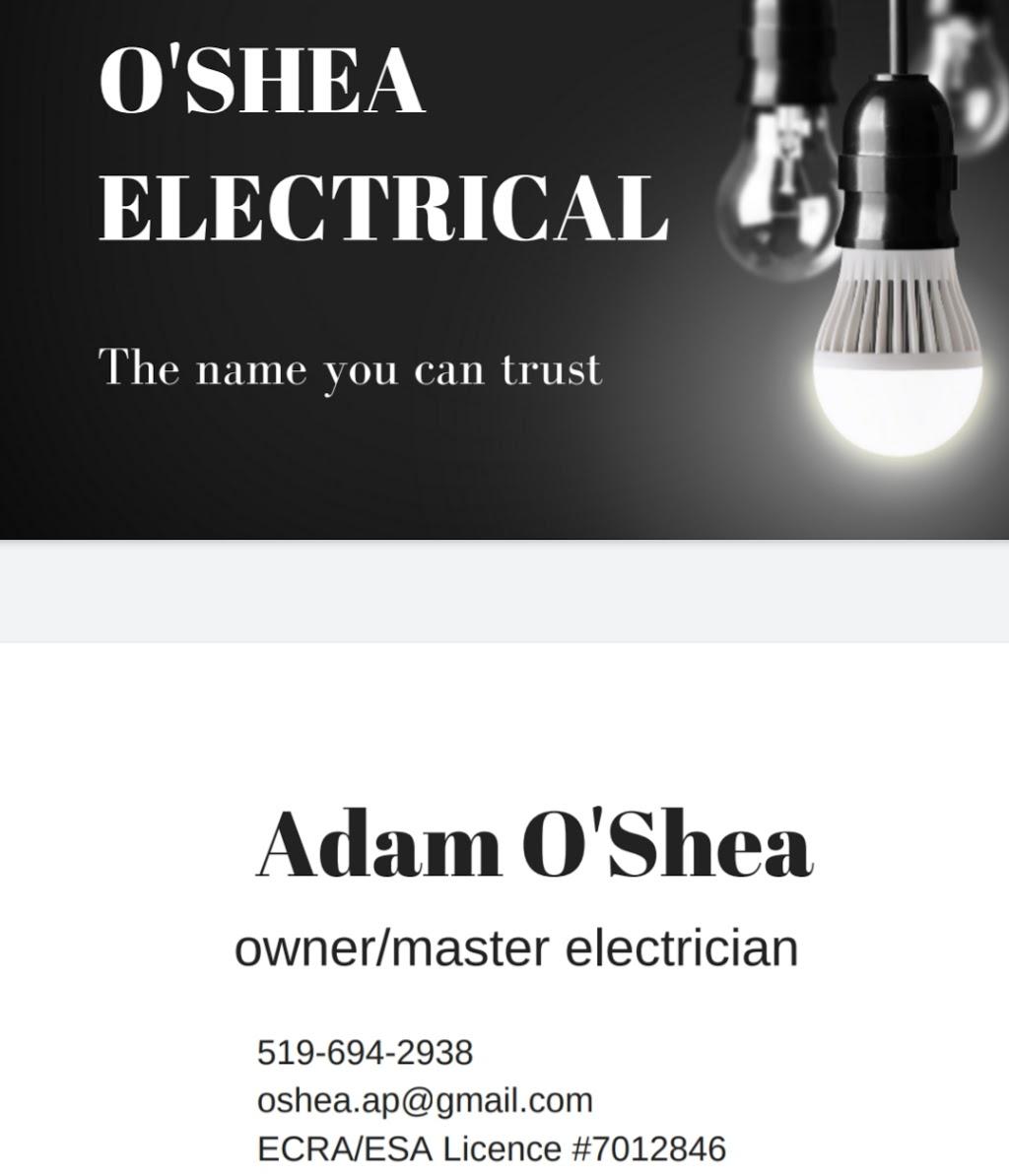 OShea Electrical | electrician | Blackacres Blvd, London, ON N6G, Blackacres Blvd, London, ON N6G 0J2, Canada | 5196942938 OR +1 519-694-2938