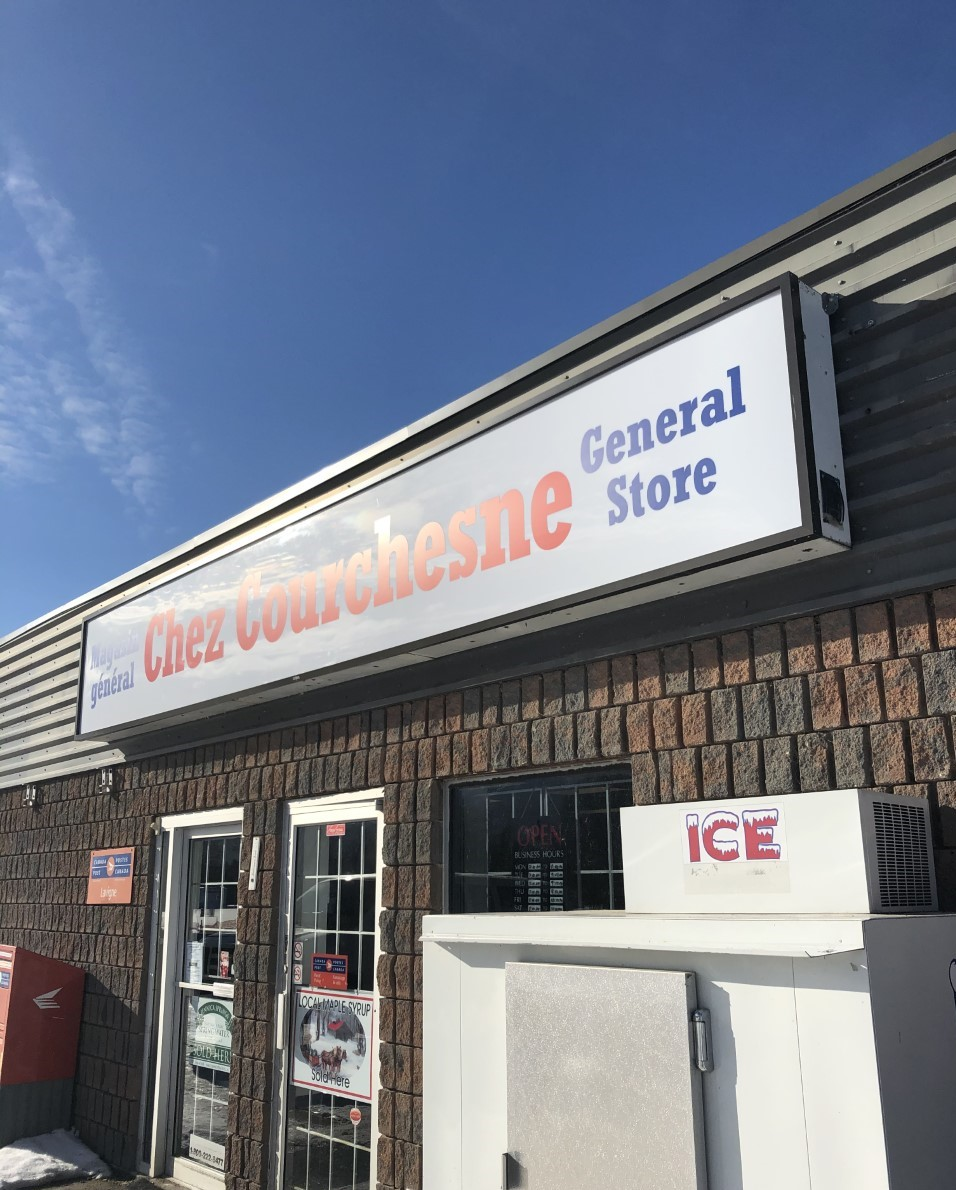 Chez Courchesne   store   10515 ON-64, Lavigne, ON P0H 1R0, Canada   7055942433 OR +1 705-594-2433