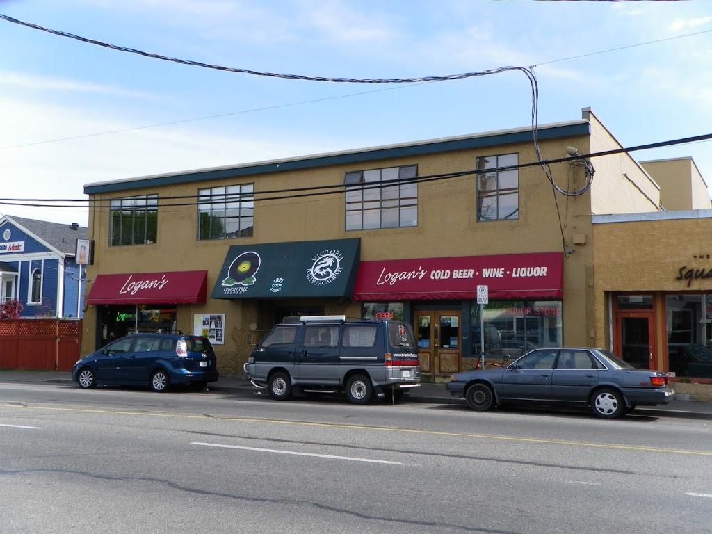 Logans Public House | restaurant | 1821 Cook St, Victoria, BC V8T 3P5, Canada | 2503602711 OR +1 250-360-2711