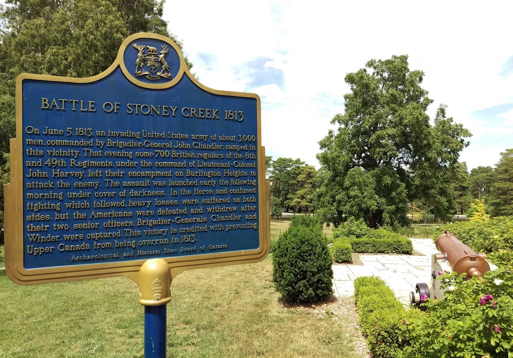 Battlefield House Museum & Park National Historic Site | museum | 77 King St W, Stoney Creek, ON L8G 5E5, Canada | 9056628458 OR +1 905-662-8458