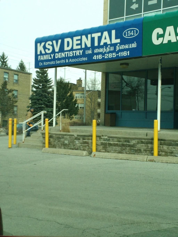KSV Dental   dentist   North York, 1541 Victoria Park Ave, Scarborough, ON M1L 2T3, Canada   4162851161 OR +1 416-285-1161