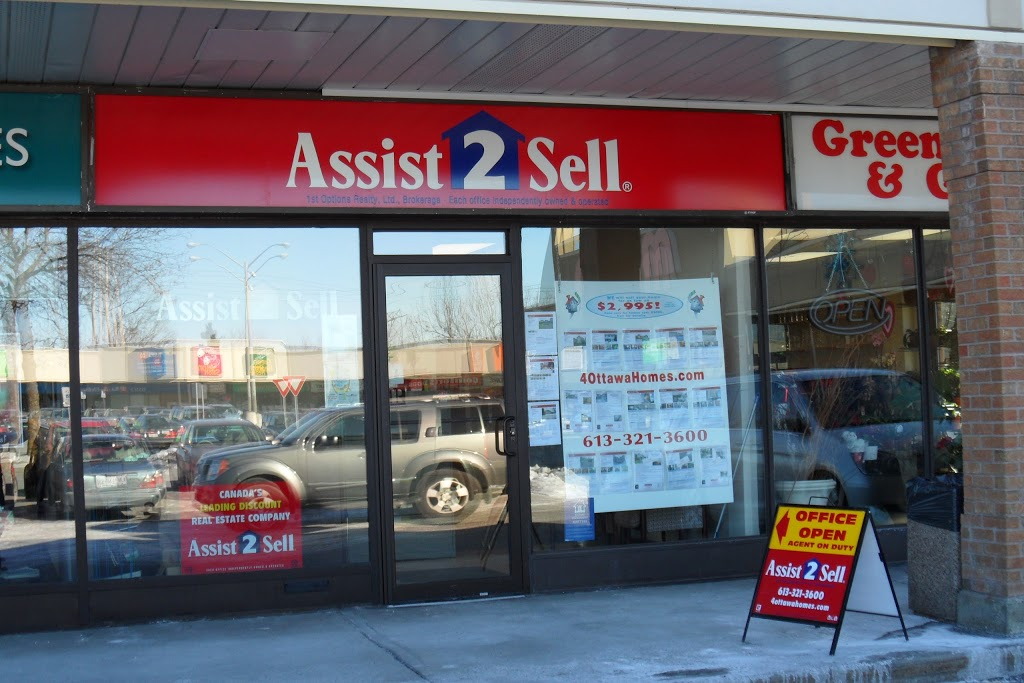 Assist 2 Sell 1st Options Realty Ltd, Brokerage | real estate agency | 203 - 100 Craig Henry Dr, Nepean, ON K2G 5W3, Canada | 6133213600 OR +1 613-321-3600